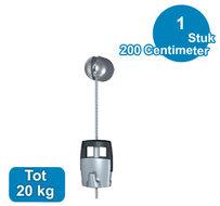 Solo hanger ophangsysteem 200 cm 20 kg N-7030.200