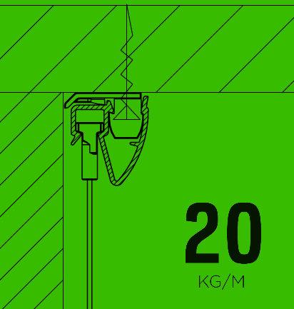 Artiteq-Up-rail-voor-plafond