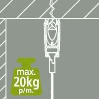 Artiteq-Xpo-rail-voor-plafond