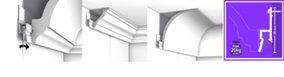 Deco rail, schilderijophangsysteem, wandsysteem