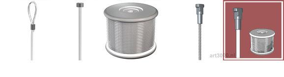 Koorden, draden, perlon, kabels, staaldraad, staalkabel