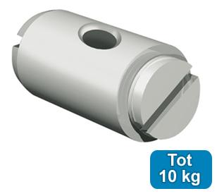 OPHANGNIPPEL, VERNIKKELD, max. 10kg, per 25 stuks 9.4211
