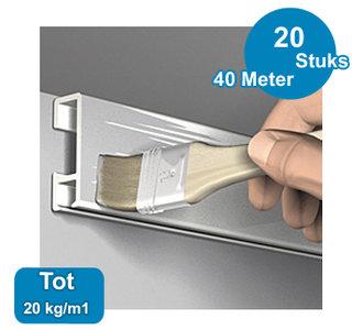 CLICK RAIL, PRIMER, 300 cm, per 20 kg/m1, per 20 stuks 9.4350