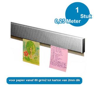 MONSTER INFO RAIL WIT, 25 cm, per stuk 05.48025