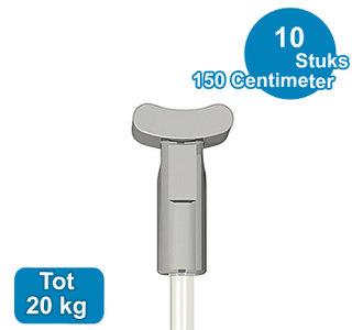 PERLON + SOLID,  2mm,  150 cm, per 10 stuks 08.23150