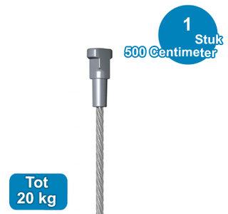 STAALDRAAD +TWISTER, 1,8mm, 500 cm,  09.33500