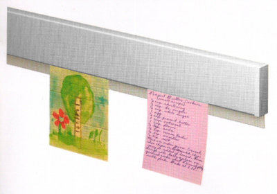 info rail aluminium 100 cm nieuw model
