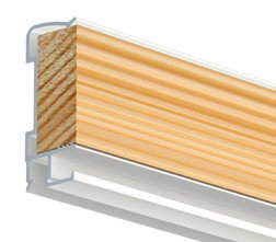 art strip 300 cm wit voor systeemplafonds