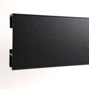 Click Rail zwart structuur 300 cm per stuk