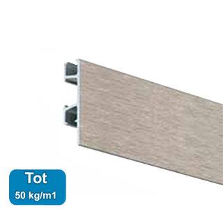 click rail pro, alu geborsteld, 200 cm, per stuk 05.05320AA