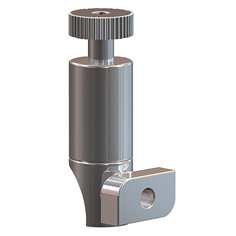 side-loader haak voor perlonkoord 2 mm en staaldraad 2 mm 15kg