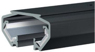 rail zwart voor display-it led