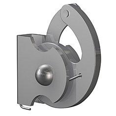 ANTI-DIEFSTALHAAK, 4x4mm, max. 100 kg, per stuk 9.4256AA