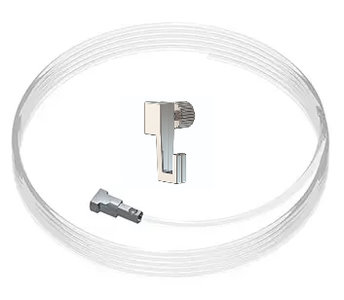 set twister 2 mm 150cm + mini-haak, max. 4kg, per stuk