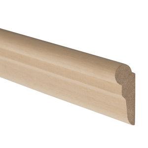STAS houten ophangrail windsor 240 cm