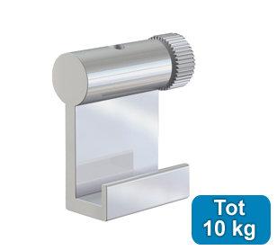 ophanghaak alu 10 kg voor max. 2 mm perlondraad en staaldraad