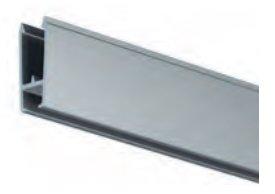 xpo rail 200 cm aluminium per 5 stuks