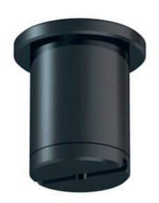 plafondbevestiging zwart C01BL per 10 stuks