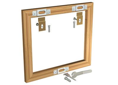 beveiligingsset voor houten lijsten per 10 sets