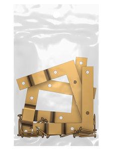 set lijsthoeken plus ophanging per 2 sets 10 verpakkingen