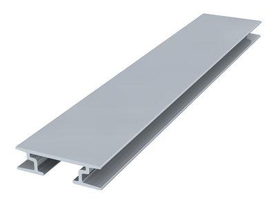 back frame rail 8 mm 300 cm alu brute per 5 stuks
