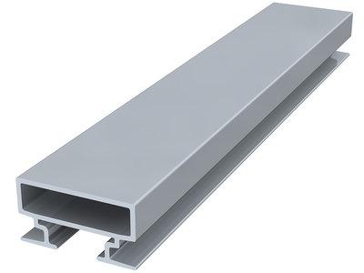 back frame rail 15 mm 300 cm alu brute per 5 stuks