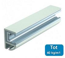 Verlichtingsrail 12 Volt 200cm wit (max 40kg/m1) 8360556